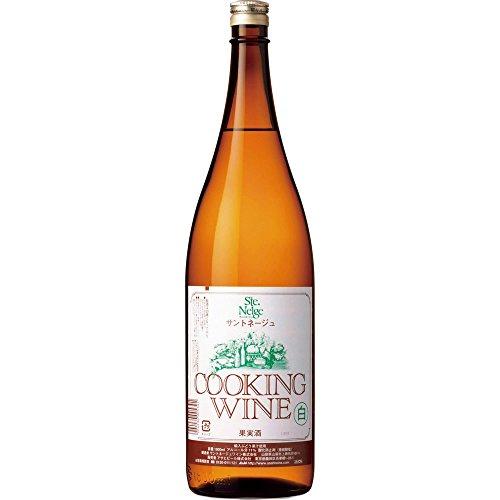 サントネージュ クッキング 白 瓶 1.8L