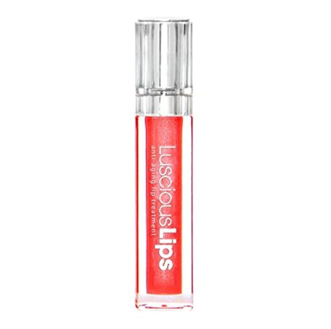 抽出ゆりかご湿気の多いラシャスリップス LusciousLips リップ美容液 7ml (327 Showstopper レッド系 ゴールドパール)