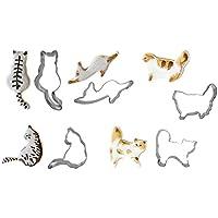 【IHARAYA】 猫 クッキー型 5種 オリジナル セット