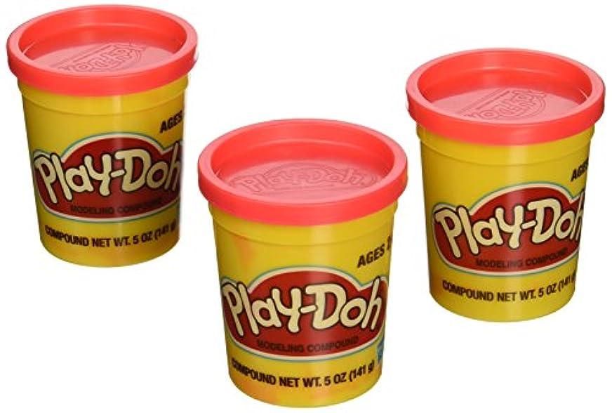 ( 3パック)明るい赤( 23870 ) Hasbro play-doh 5オンス合計15オンス)