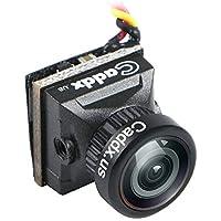 ミニFPVカメラ Caddx ターボEOS2 ミニカメラ FPV褐色撮影头(N制4:3) 1200TVL 2.1mm FOV 160度1/3 CMOS NTSC for FPVクアドコプターレーシングドローン …