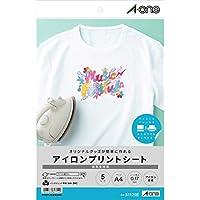 【Amazon.co.jp限定】 エーワン アイロンプリントシート 51125タイプ 5シート