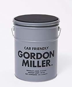GORDON MILLER ペール缶スツール 20l チェア 椅子 スタッキング アウトドア キャンプ 収納 ガレージ 洗車 DIY 工具入れ GY グレー 1553428
