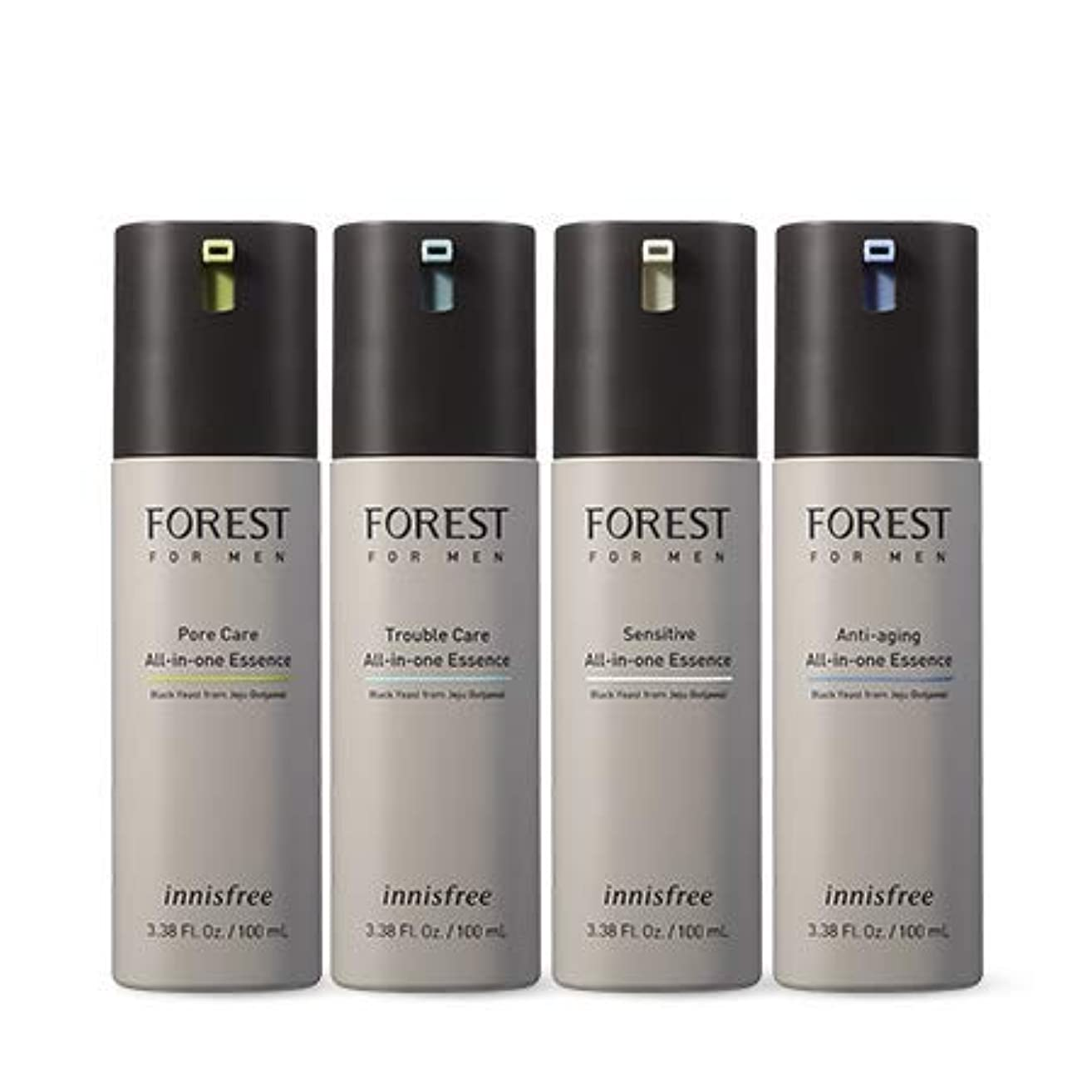 被害者小数レポートを書く[イニスフリー.INNISFREE](公式)フォレストフォアマンオールインワンエッセンス各100mL(2019。新発売)/ FOREST FOR MAN ALL IN ONE ESSENCE(2019.04 NEW PRODUCT...