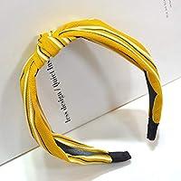 AKDSteel Women Girls Headband Top Knot Turban Headband Cross Bandage Scarf Hair Accessories 27#