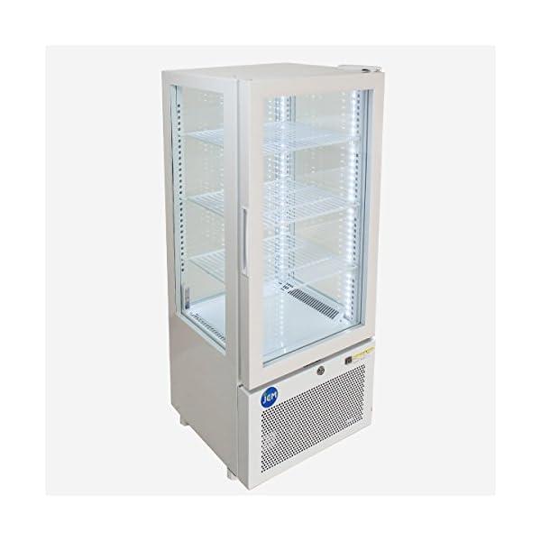 4面ガラス冷蔵ショーケース【JCMS-78】 ...の紹介画像2