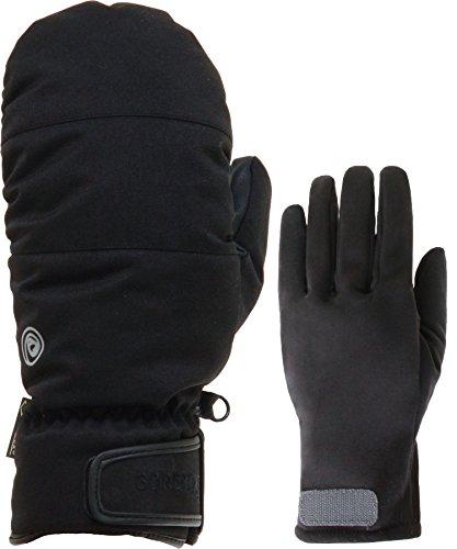namelessage(ネームレスエイジ) GORE-TEX スノーボード グローブ 全5色柄 メンズ ミトン グローブ AGE-23 BLK_M990 Mサイズ ゴアテックス 手袋 手ぶくろ おしゃれ 男性用 スノボ ー グローブ スノー グローブ ミット型