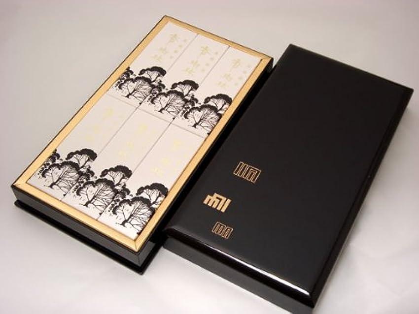 草スリラージュラシックパーク進物用線香 【香樹林(こうじゅりん)】 平型樹脂塗箱入