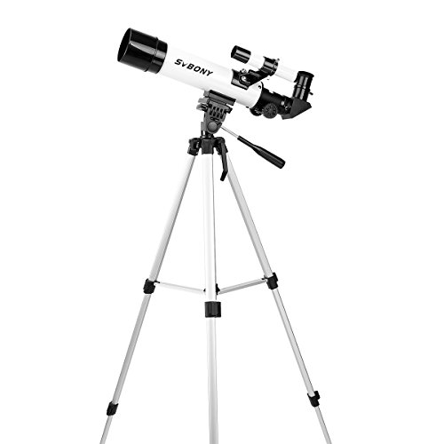 SVBONY SV25 天体望遠鏡 屈折式 初学者 子供用 スマホアダプタも付属 21 x 47x 63 x 141x 日本語のマニュアルがある