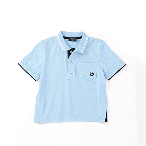 (コムサ イズム) COMME CA ISM ファミリーポロシャツ(キッズサイズ) 98-64CF03-108 150cm サックス
