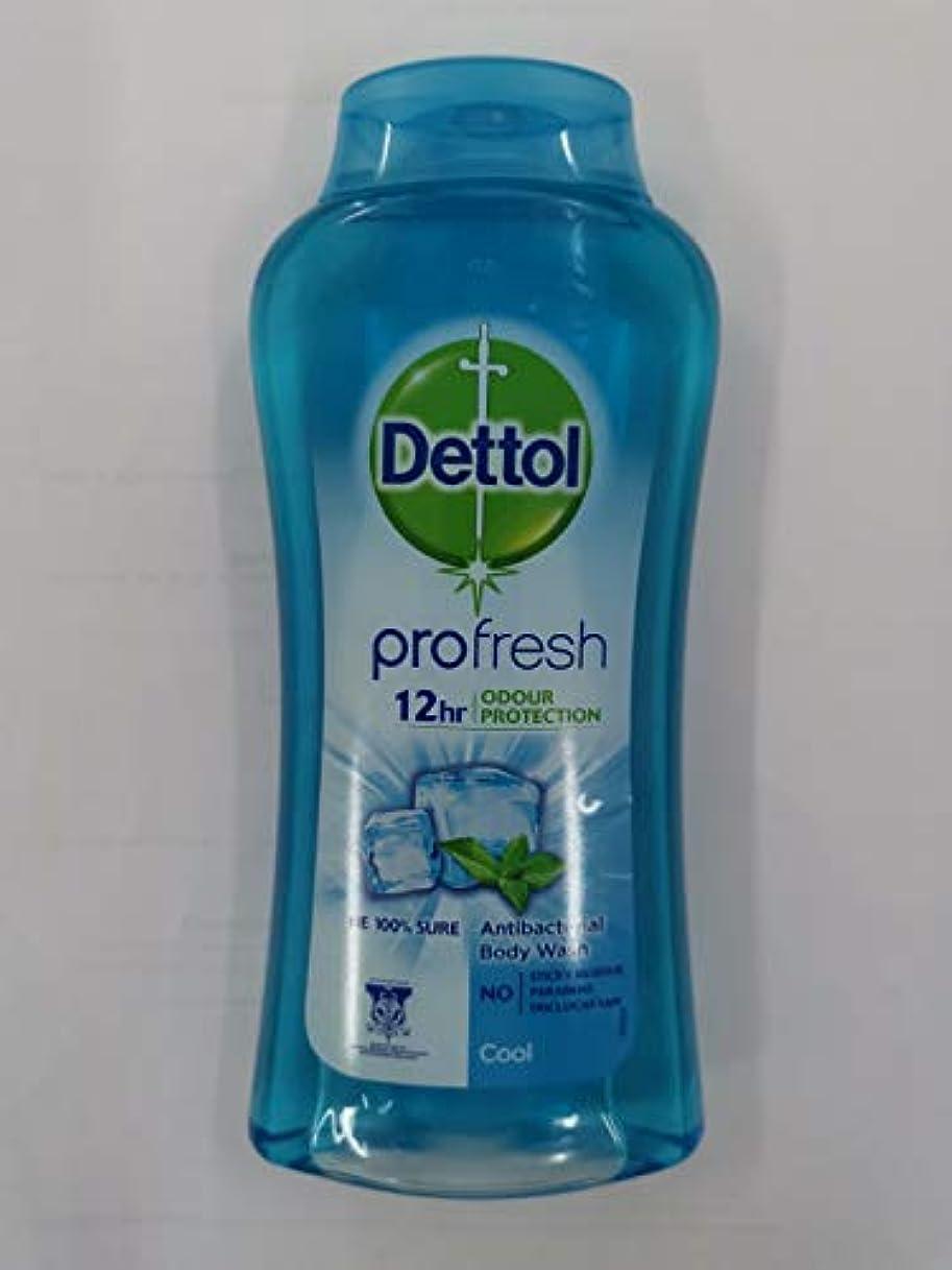 無限大上院シングルDettol 100%ソープフリー - - 平衡のpH値 - クリーム含有する毎日の細菌を防ぐために、コールドシャワージェル250mLの