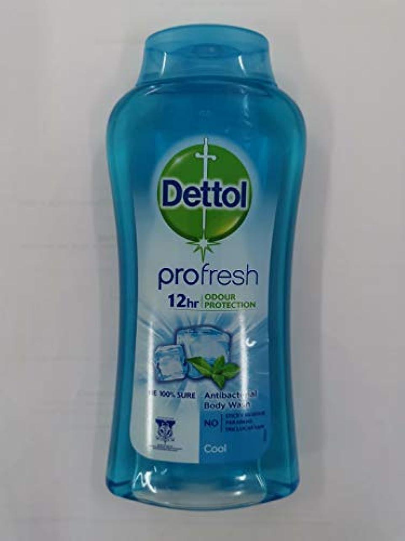 欲望脅威所得Dettol 100%ソープフリー - - 平衡のpH値 - クリーム含有する毎日の細菌を防ぐために、コールドシャワージェル250mLの