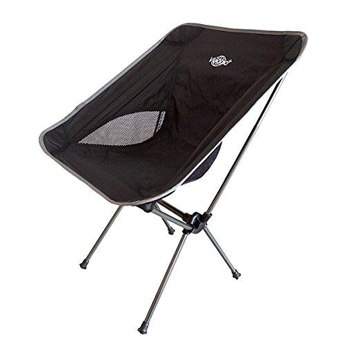 YOU+ アウトドアチェア 折りたたみ 【耐荷重100kg】イス 椅子 背もたれ コンパクト 軽量 専用ケース付き