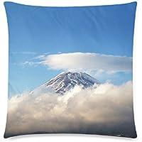 可愛い 子供 雲に覆われる富士山 座布団 45cm×45cm可愛い 子供 雲に覆われる富士山 座布団 45cm×45cm可愛い 子供 雲に覆われる富士山 座布団 45cm×45cm