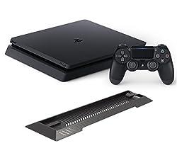 PlayStation 4 ジェット・ブラック 500GB (CUH-2000AB01) 【Amazon.co.jp限定】アンサー PS4用縦置きスタンド付