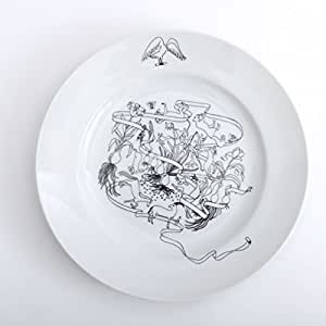 PASS THE BATON Goat&Wolf Remake tableware plate