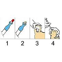 ペット 猫 犬用品 介護補助 補助 薬やミルク等を与える時に ジェントルフィーダー 注射器型フィーダー ペット用注射器 全3色選ぶ - レッド