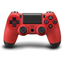 Bluetooth Wireless PS4 Controller for PS4 Vibration Joystick Gamepad PS4 Game Controller (Red)