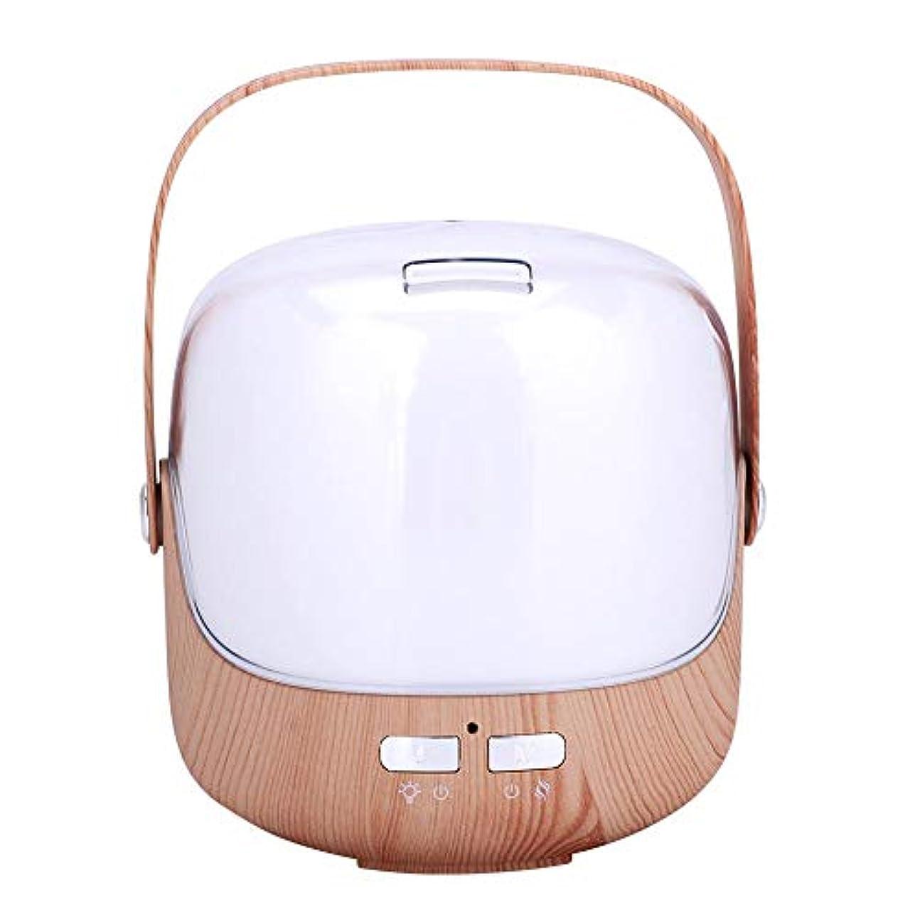 摂氏度とげ市場アロマ加湿器 アロマディフューザー 超音波加湿器 卓上加湿器 250ml 超音波霧化 空焚き防止 アロマ機能 7色LED付き 室内加湿 乾燥対策 暖房室対応 小型 低騒音 省エネ 部屋 オフィス (01)