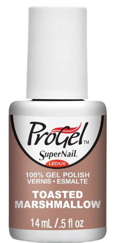 気をつけて寝室を掃除するそうSuperNail ProGel Gel Polish - Toasted Marshmellow - 0.5oz/14ml