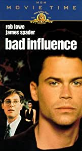 Bad Influence [VHS]