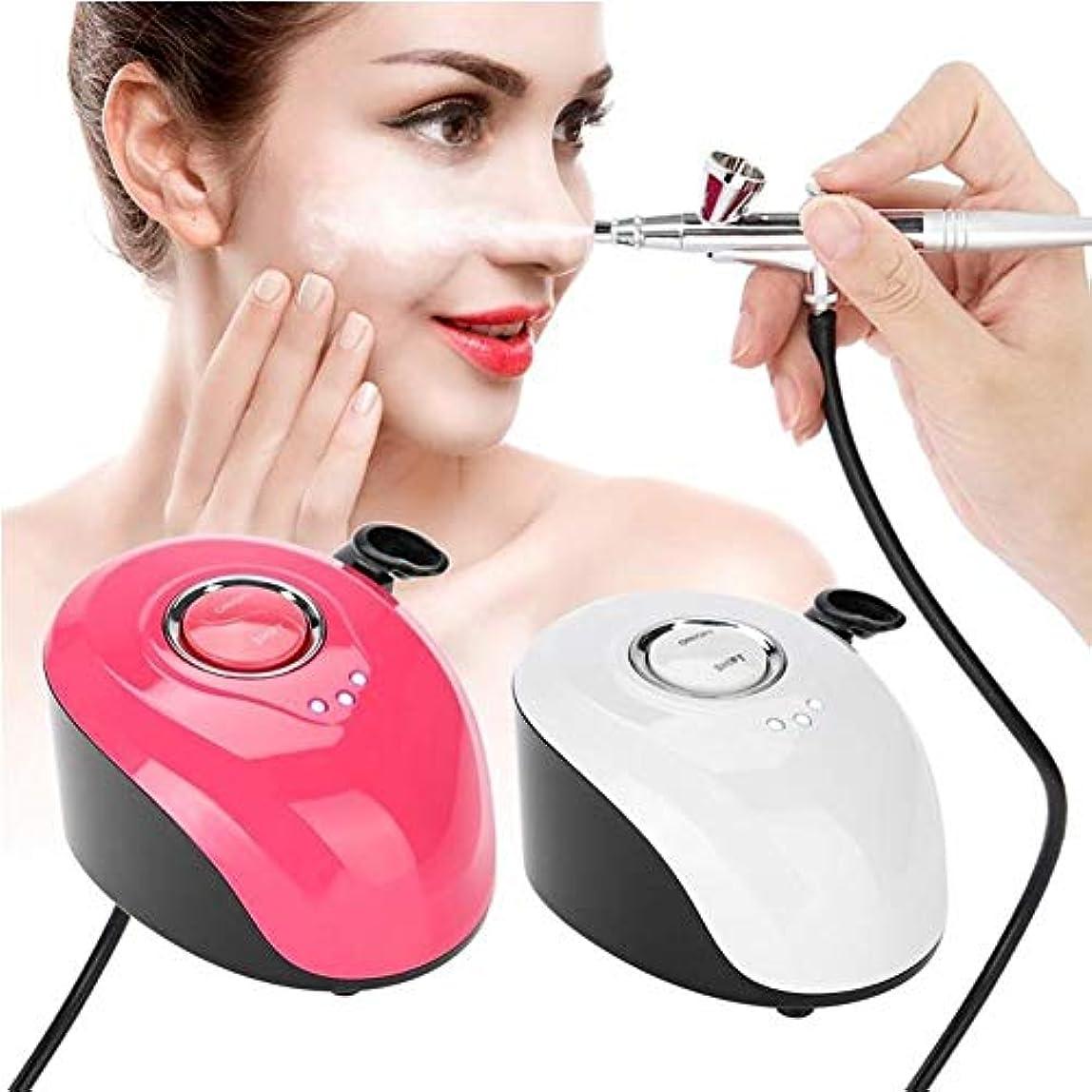 そばにラダ口頭酸素水注射器インジェクター皮膚美容デバイス保湿ホワイトニングアンチエイジング肌の若返りとディープクレンジング高圧水酸素注入修復肌white