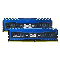 シリコンパワー デスクトップPC用メモリ DDR4-2666(PC4-21300) オーバークロック 16GB×2枚 永久保証 SP032GXLZU266BDA