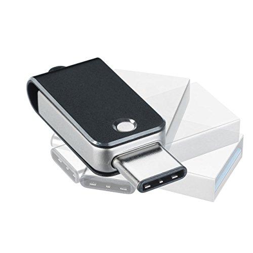 サンワダイレクト USBメモリ USB3.1 / Type C USB3.0 高速 キャップレス 32GB 600-3TC32GN