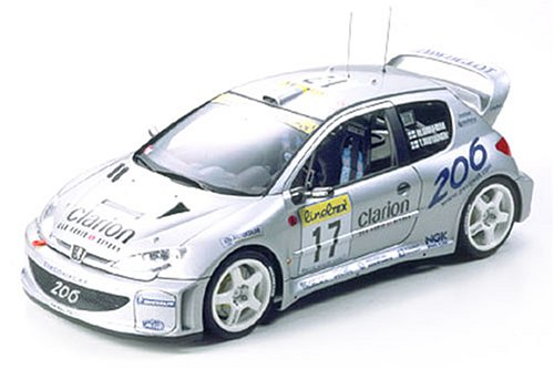 1/24 スポーツカーシリーズ プジョー206WRC2000