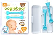 oogiebear - Patented Curved Scoop and Loop - The Safe Baby Nasal Booger and Ear Cleaner - Baby Shower Registry