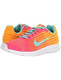 [NIKE(ナイキ)] キッズスニーカー?スケートシューズ?靴 Downshifter 8 Fade (Big Kid) Solar Red/Aurora Green/Laser Orange 6 Big Kid (24...