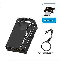 フルキャパシティースーパー小型防水USBフラッシュドライブ32ギガバイト16ギガバイト8ギガバイト4ギガバイトペンドライブフラッシュペンドライブのメモリのUSBスティック (Capacity : 32GB, Color : Gray otg)