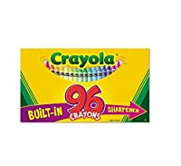 crayola 96 countクレヨンwith組み込み削り器 crayola products 520096