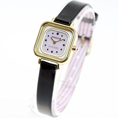 [シチズン]CITIZEN ウィッカ × ラデュレ wicca × LADUREE ソーラーテック コラボ限定モデル 腕時計 レディース KK3-310-14