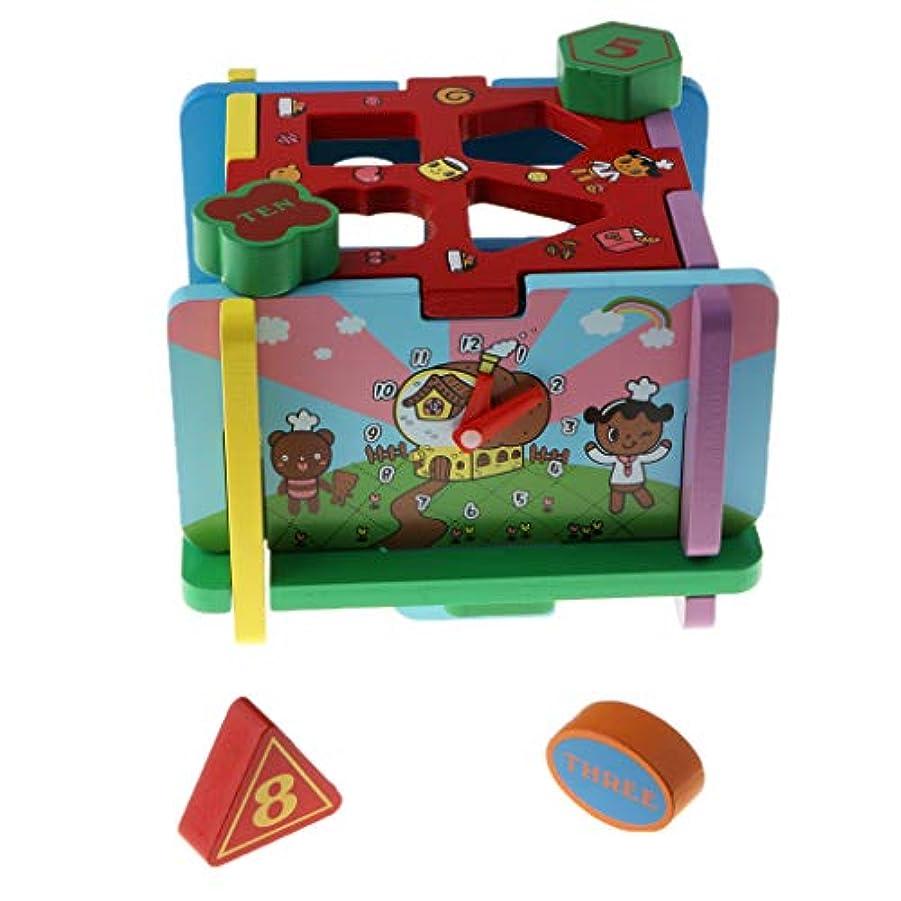 何故なのペグ協定木のおもちゃ 木製 幾何体 図形 形状パズル 形合わせ はめこみ玩具