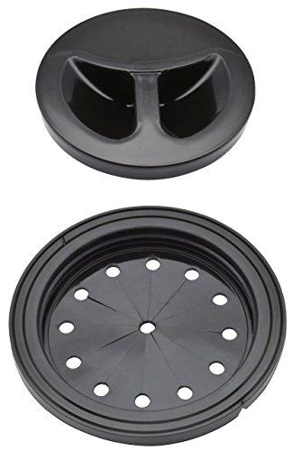 ガオナ ホリダー・シモン シンク用 排水口のフタと止水フタセット 適合サイズ135・145・150mm (手で切れる 水を溜める 防臭 便利) GA-PB005
