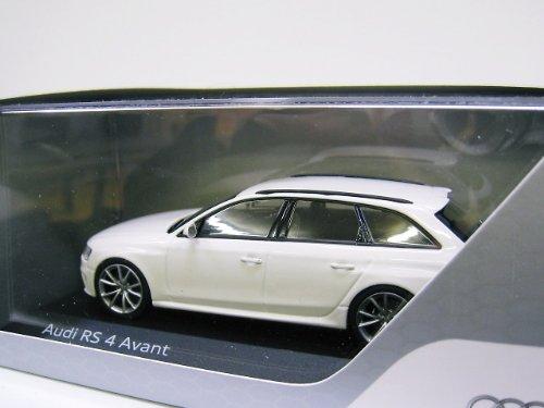 AUDI特注 1/43 アウディ RS4 アバント 2012 (アイビスホワイト)