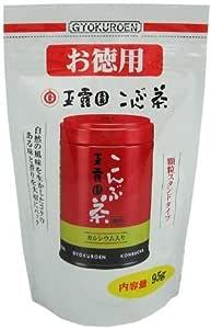 玉露園 こんぶ茶 お徳用スタンドパック 95g