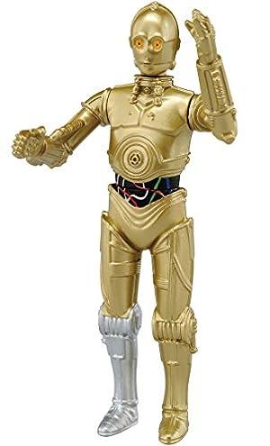 メタコレ スター・ウォーズ #04 C-3PO 約 77mm ダイキャスト製 塗装済み 可動フィギュア