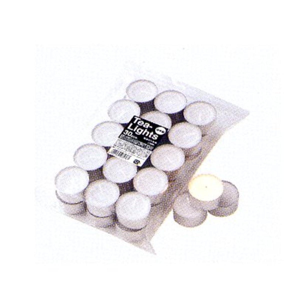 技術的な時オゾンカメヤマキャンドル ティーライト ティン キャンドル 30個袋入り