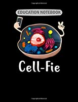 Education Notebook: cell joke  College Ruled - 50 sheets, 100 pages - 7.44 x 9.69 inches