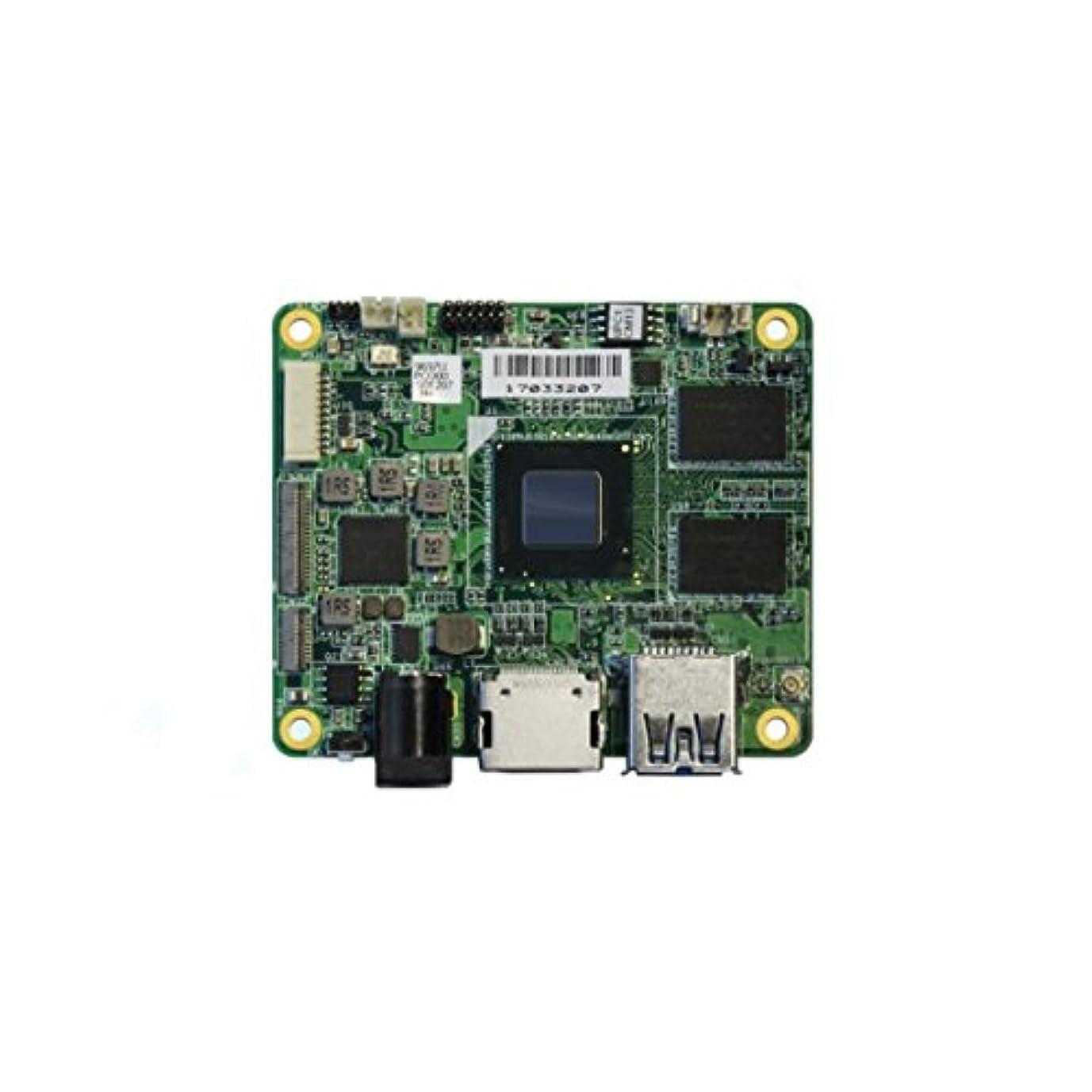共感するクーポン専門用語AAEON Windows 10/Linux/Android対応! 開発者向け超小型CPUボード 4Gメモリ 64G eMMC搭載モデル UPC-CHT01-0464
