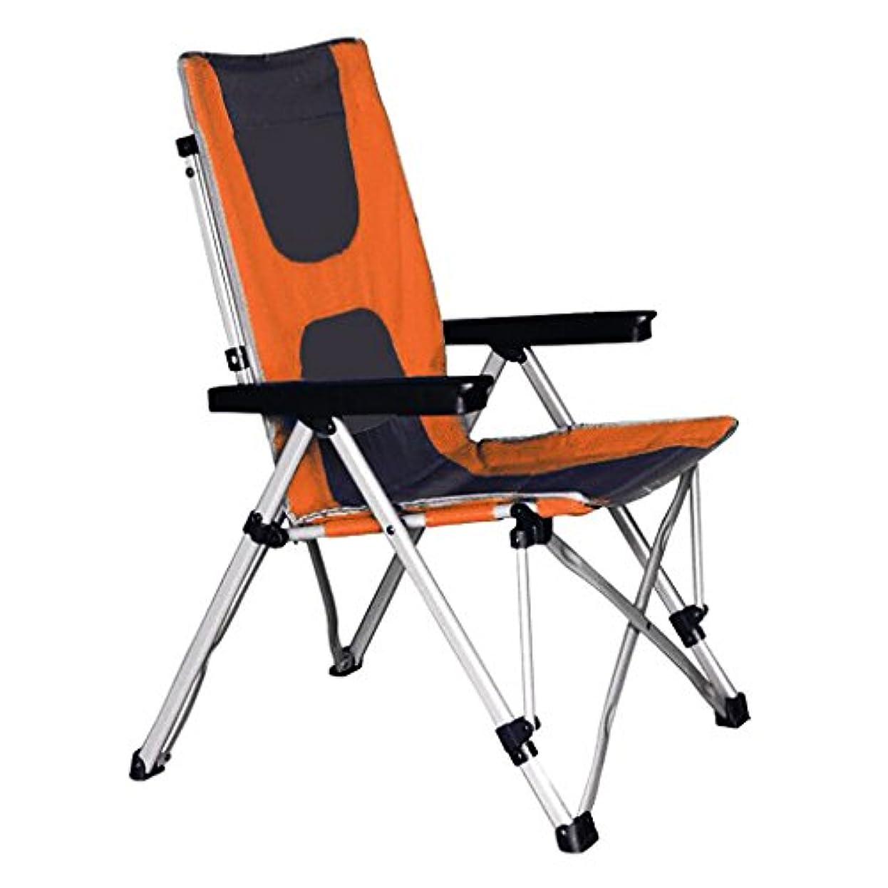 版噴出する紀元前折り畳み式椅子二重使用のリクライナーポータブルチェアランチブレイクビーチチェアキャンプフィッシングチェア4スピード調整