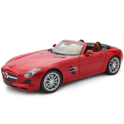 1/18scale ミニチャンプス MINICHAMPS Mercedes-Benz SLS AMG Roadster 2011 Red Metallic メルセデス ベンツ ロードスター レッドメタ