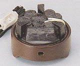 ■茶道具 遠赤外線 炭型 電熱器、 風炉用 電気炭 YU-001-3P、【 強(500W) / 弱(200W) / 切 】3段階 切替スイッチ付[ 裏千家用 ]