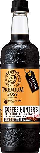 サントリー コーヒー プレミアムボス ハンターズセレクション 甘さ控えめ 750ml×12本