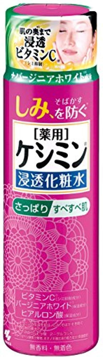 うねるしなやかジャケットケシミン浸透化粧水 さっぱりすべすべ シミを防ぐ 160ml 【医薬部外品】
