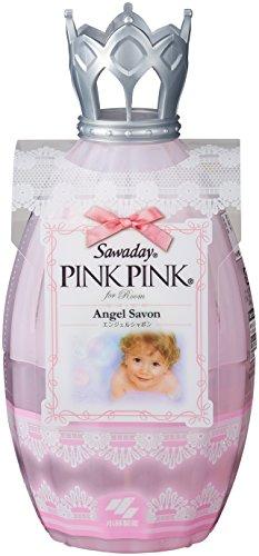 サワデーピンクピンク 消臭芳香剤 部屋用 本体 エンジェルシャボン 250ml