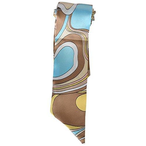 (カービーズ) curvy's シルクタッチロングスカーフボータイ ロングスカーフ 05.マーブルベージュ