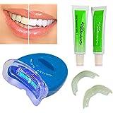 歯ホワイトニング器 歯美白器 美歯器 ホワイトニング ホワイトナー ケア 歯を白くする 口腔ゲルキット 歯ジェル 美白ゲル ライト付き 口腔洗浄ツール 歯科クリーナー